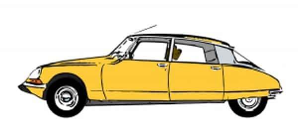 classic citroen car