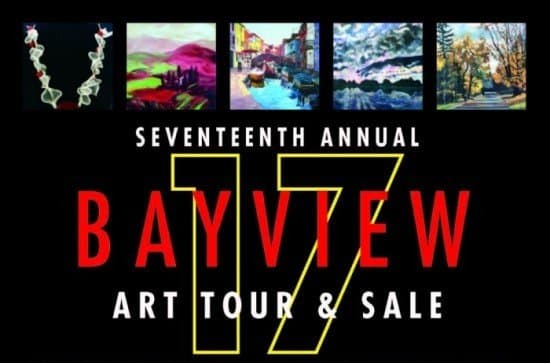 Bayview Art Tour Sale 2017 Poster