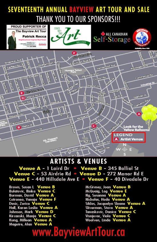 Bayview Art Tour & Sale 2017