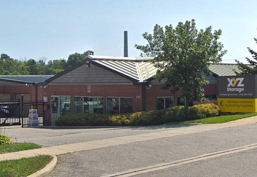 XYZ Storage Scarborough Location Exterior