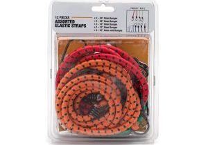 green, orange, and red assorted elastic straps in packaging