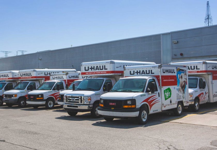 XYZ Storage Toronto Midtown Location U-Haul Rental Truck