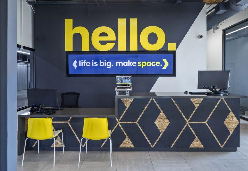 XYZ Storage Midtown Toronto Front Desk