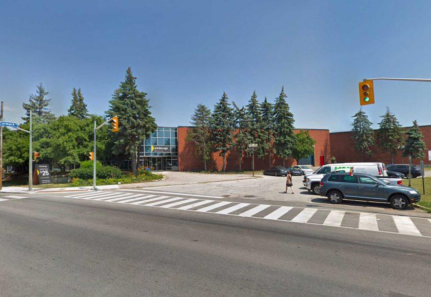 XYZ Storage Toronto West Location Exterior