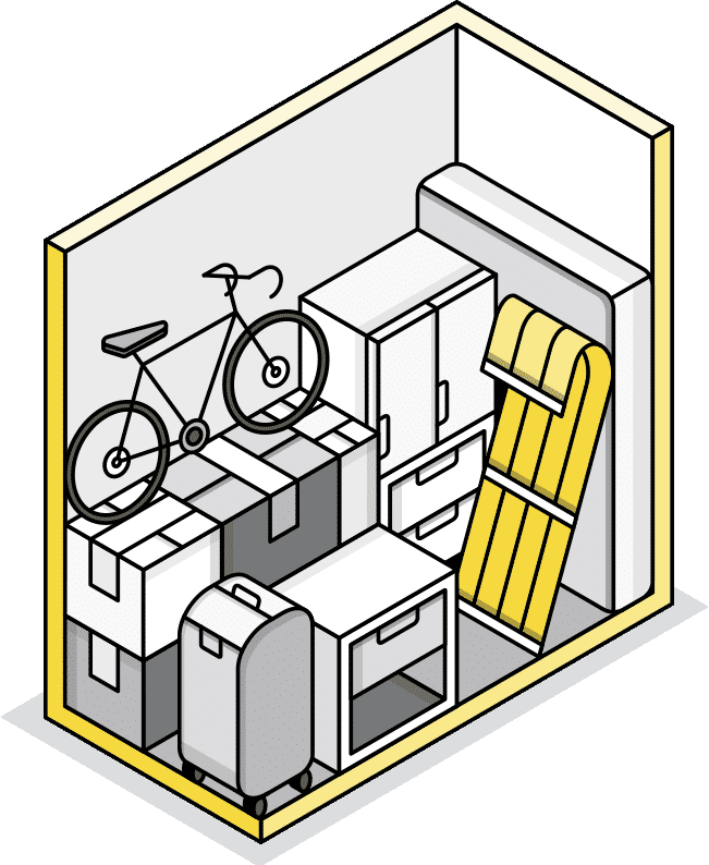 Toronto Midtown - Small Storage Illustration