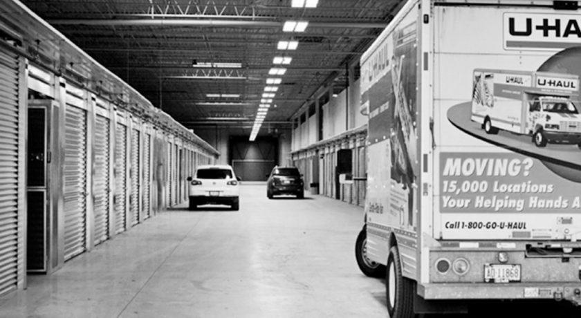 U-Haul Rental Track at XYZ Storage Toronto West Location