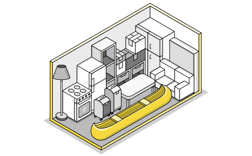 large storage illustration