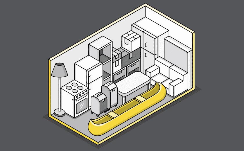 large storage illustration