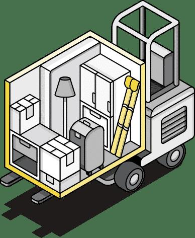 mobile storage illustration