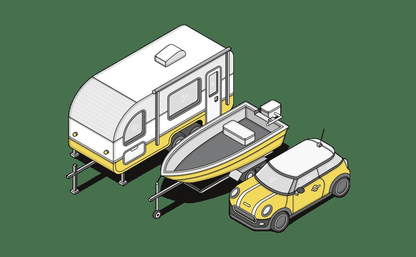 parking storage illustration