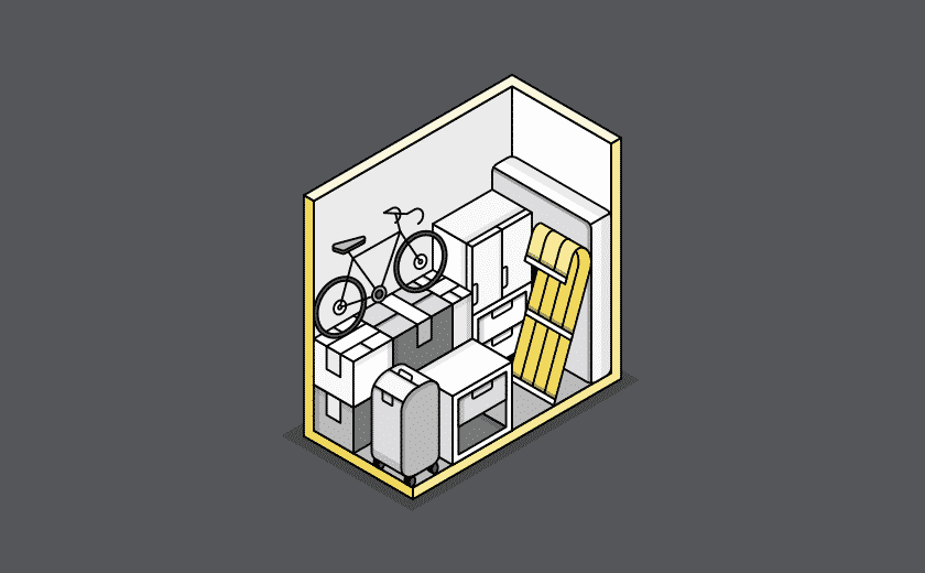 small storage illustration