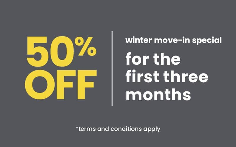 50% Off for the first three months