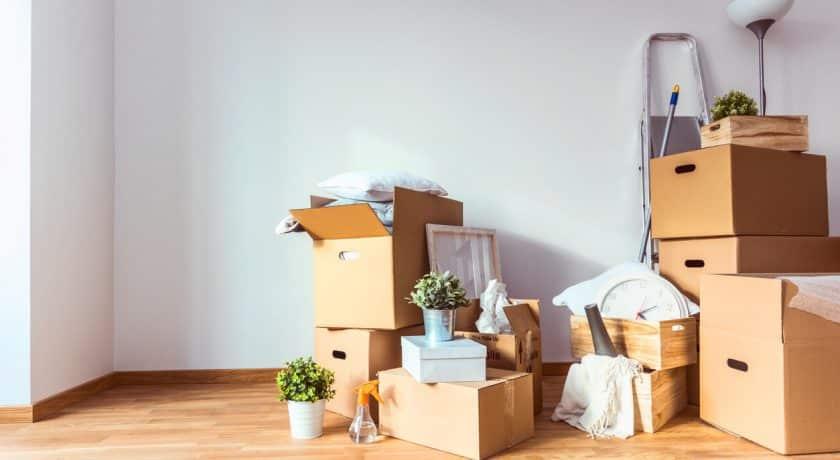 Prepare belongings for storage